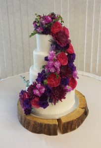 calgary wedding flowers florist real inspiration reception venue cake flowers dahlia floral design