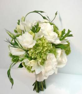 White and green wedding bouquets dahlia floral design green white rustic natural hydrangea real calgary wedding flower bridal bouquet mightylinksfo