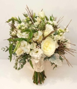 White and green wedding bouquets dahlia floral design inspiration calgary real wedding flowers florist wedding dahlia floral design white cream green champagne ivory bouquets mightylinksfo