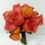 ORANGE ROSE AND CALLA LILY BOUQUET 1200