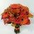 ORANGE ROSE CALL LILY MINI GERBERA WITH GREENHYPERICUM BERRIES BOUQUET 1200