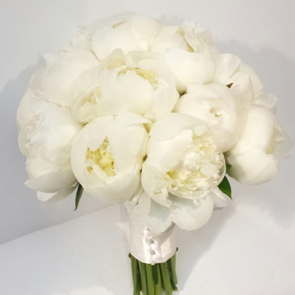 White Wedding Bouquet Video
