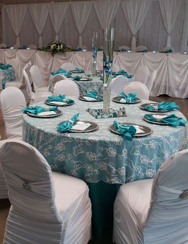 Inspiration Board Reception Table Ideas Turquoise