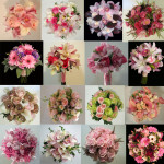 pink wedding flower bouquet inspiration calgary dahlia floral design