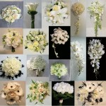 white wedding flower bouquet inspiration calgary dahlia floral design