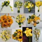 yellow wedding flower bouquet inspiration calgary dahlia floral design
