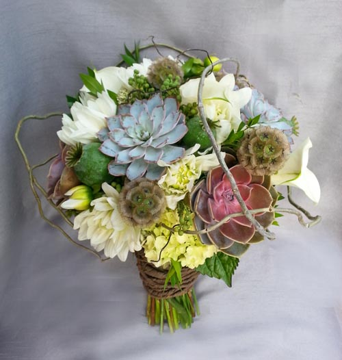 rustic natural organic flower bridal bouquet calgary dahlia floral design. Black Bedroom Furniture Sets. Home Design Ideas