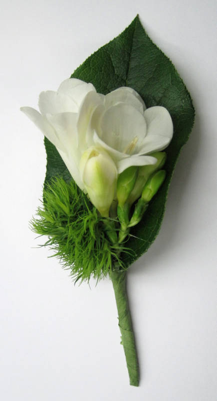 Freesia With Salal Backing And Dianthus 500 Copy