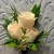 PEACH SPRAY ROSE BOUTONNIERE 500