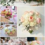 hydrnagea, rose garden rose dahlia floral design calgary wedding flowers wedding florist