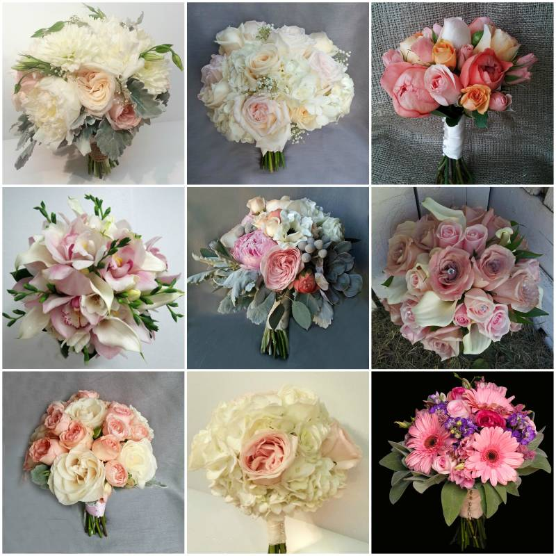 wedding flower bouquets calgary