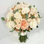 It's an all peach weekend here at Dahlia Floral Design