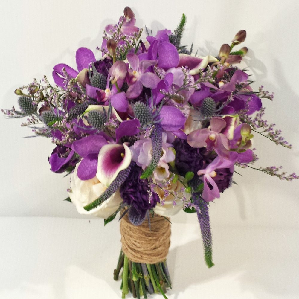 Purple Wedding Bouquet Video