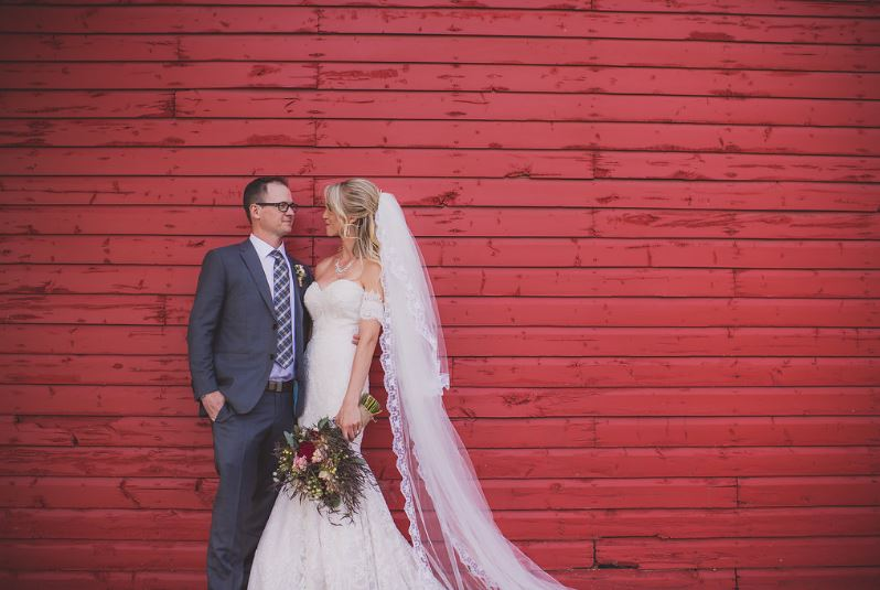 Real YYC Weddings  – One of Our Couples – Alicia & Bryce